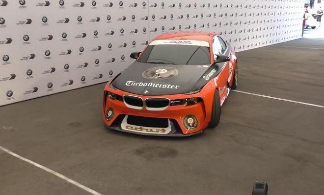 橘袍加身 BMW 2002 Hommage Turbomeister概念車Pebble Beach帥氣登場