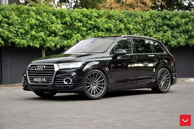 22吋大框與寬體套件上身 ABT在荷蘭推出Audi「QS7」