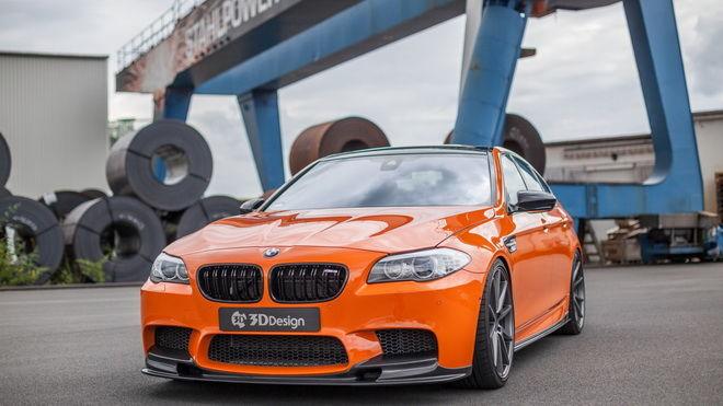 橘色暴力 Carbonfiber Dynamics打造世界最強之一的BMW F10 M5
