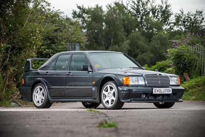 低里程、絕版品 Mercedes-Benz 190E 2.5-16 Evolution II身價達近900萬