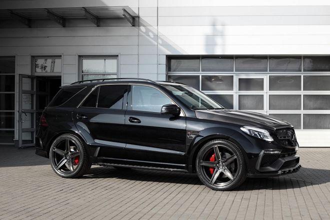 來自地獄的使者 Topcar提供Mercedes GLE-Class全碳纖維套件要價72萬元起