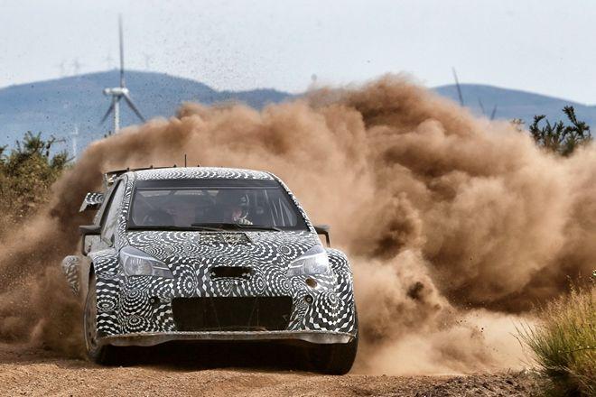 全新暴力越野鴨 2017 Toyota Yaris WRC進入測試最後階段