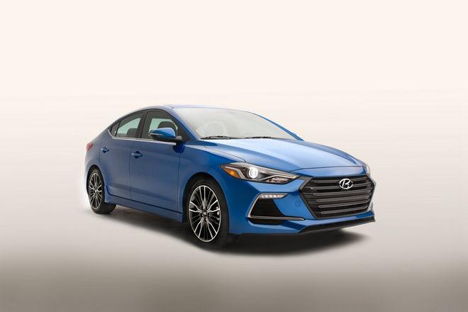 渦輪增壓引擎入替 2017 Hyundai Elantra Sport即將在美國上市