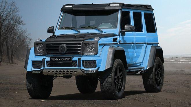 氣勢、質感兼得 「Mansory」客製化Mercedes-Benz G500 4x4²出爐