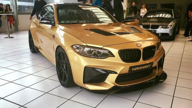 Manhart打造630匹暴力級BMW M2 慶祝自己30歲生日