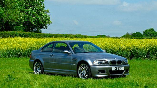 很可惜是右駕 「10歲」2006 BMW M3 「CS」將拍賣