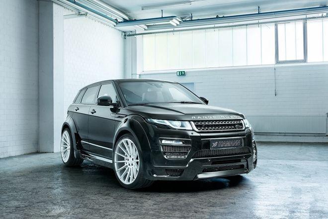 爆龜寬體 「Hamann 」推出Land Rover Evoque專屬車身套件