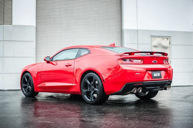 「肌情」更奔放 Borla Performance推出Chevrolet Camaro SS排氣尾管套件
