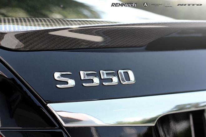 美國改裝廠Renntech讓Mercedes-Benz S550「更會跑」 但最貴的部分竟然是要價50萬的大腳