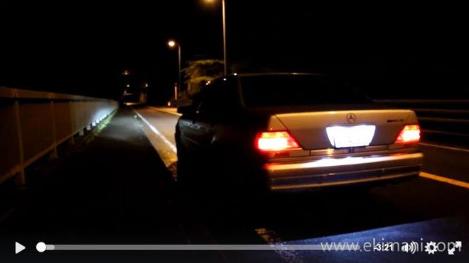 [影片]老車也可以狂 「W140」Mercedes-Benz S600聲浪像超跑一樣