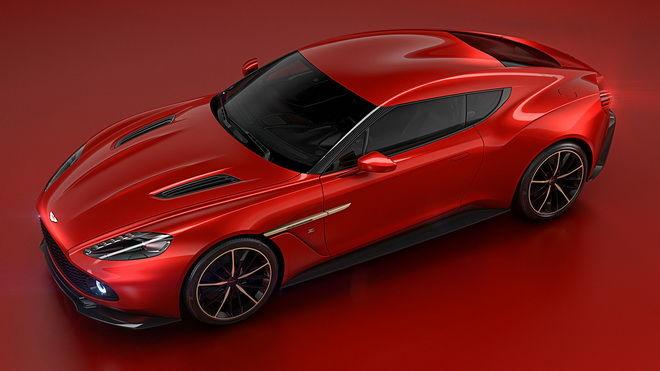 Aston Martin Vanquish Zagato Concept將在Concorso d'Eleganza Villa d'Este古董車展亮相