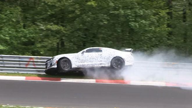 [影片]Oh! 全新雪佛蘭Camaro Z/28於Nürburgring賽道上發生事故