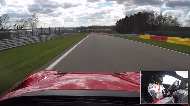 [影片]請轉大喇叭 Ferrari F12 TdF 斯帕-弗朗科爾尚賽道秀