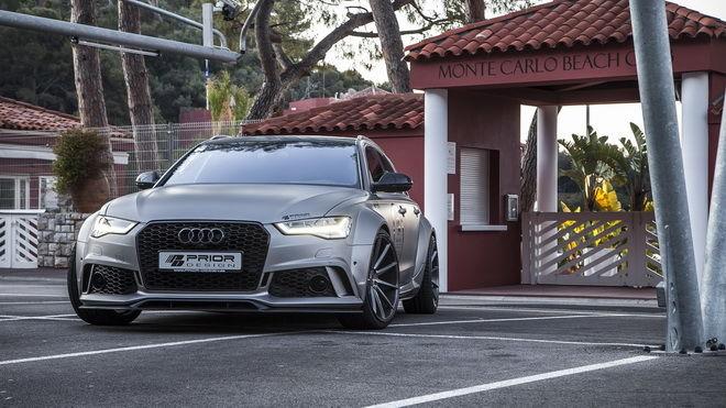 寛體才霸氣 心強才過癮 Prior Design推出Audi A6/RS6 Avant外觀動力改裝套件