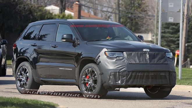 美國也要參戰高性能SUV市場    下一代Jeep Grand Cherokee「Trackhawk」測試車捕獲