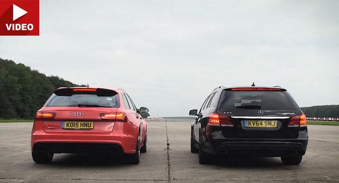 金字塔「Wagon」的對決  Audi RS6 Vs Merc E63S