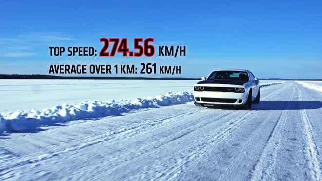 [影片] 還有什麼難不倒它  Dodge Challenger Hellcat在雪地也沒問題