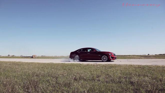 [影片] 夠狂! 德州改裝廠Hennessey打造的Cadillac CTS-V能爆發出757馬力