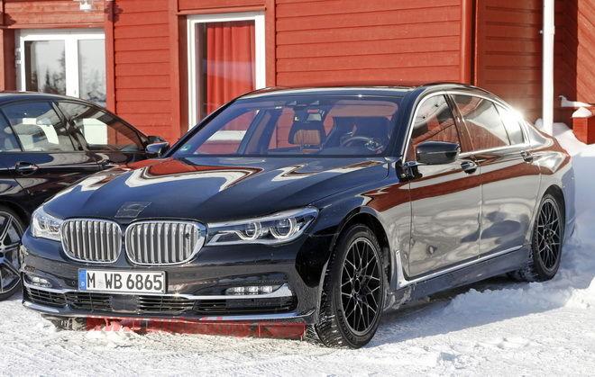 7-Series一哥現身 這是BMW M7測試車嗎?