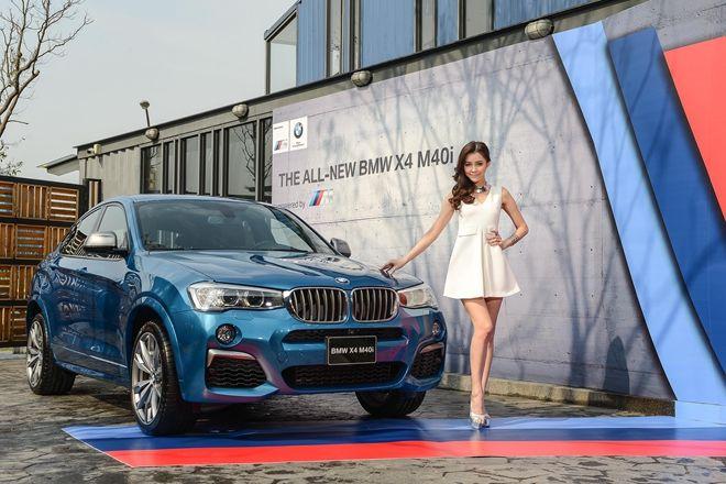 蓄勢待發 全新BMW X4 M40i  正式登台 售價335萬元起