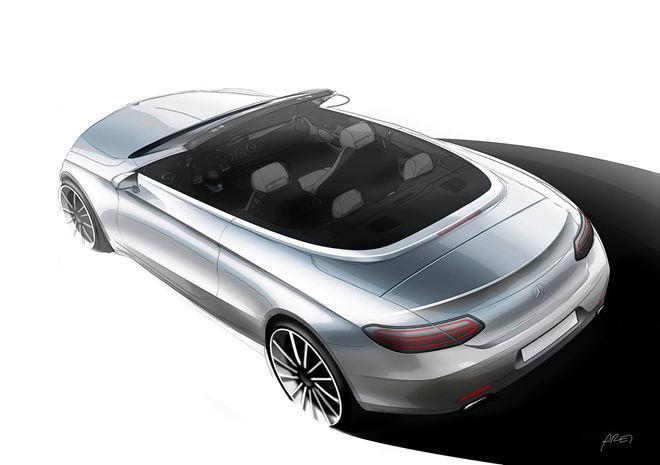 露出雛形,Mercedes-Benz C-Class Cabriolet將在日內瓦車展上現身