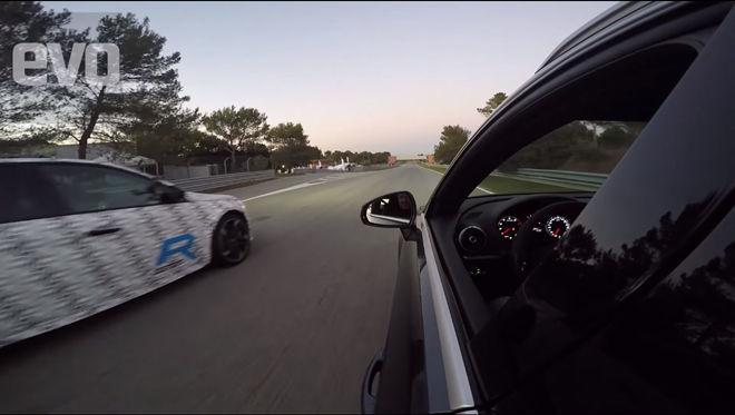 [影片]Peugeot 308R Hybrid對抗Audi RS3