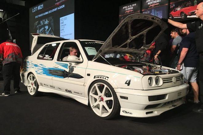 白色閃電易主,於玩命關頭1出現的1995年Volkswagen Jetta拍賣金額達$42k!