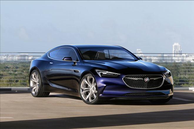 Buick 發表概念雙門跑車 [Avista],最大馬力400HP !