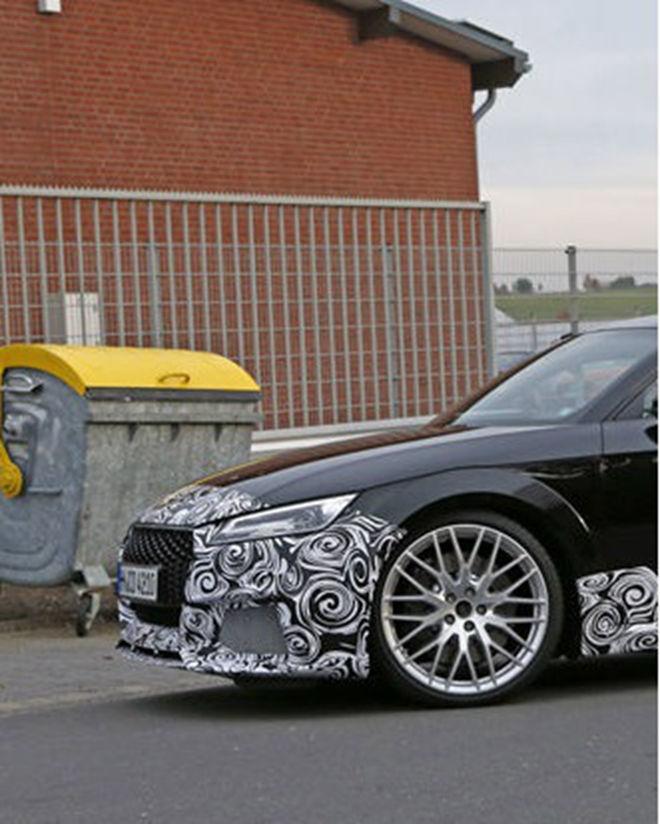 新一代Audi TT RS將擁有395hp?