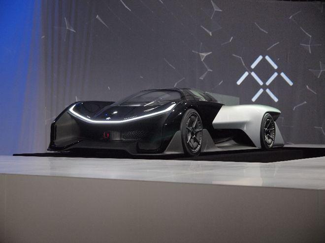 Faraday Future 概念車FFZERO1 首度亮相