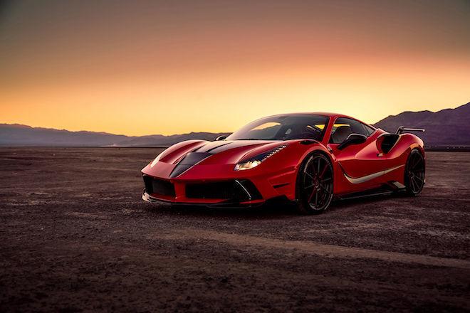 還有人能讓Ferrari的層峰之作488 GTB更上一層樓嗎?有!Mansory做到了