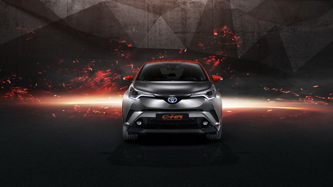 2017法蘭克褔車展:造型摩登 Toyota C-HR Hy-Power概念車未來將搭載新Hybrid系統