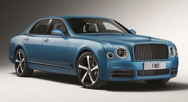 限量版的Mulsanne和新的Continental GT將成為Bentley在法蘭克福上的焦點
