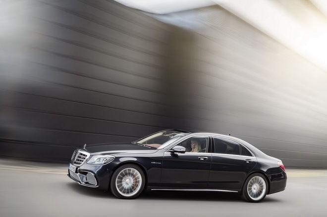 2018小改款M-Benz S-Class帶著新面孔 新技術 新引擎在上海登場