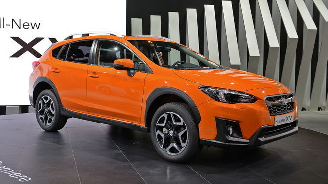 2017日內瓦車展:新平台 新引擎 更高安全基準 新世代Subaru XV正式發表