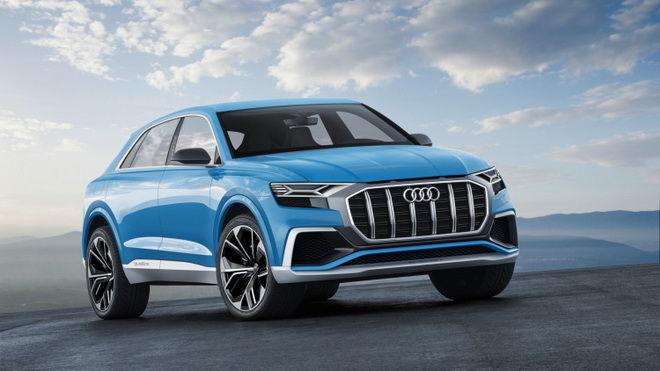 2017底特律車展:Audi未來休旅新成員 Q8 Concept正式登場