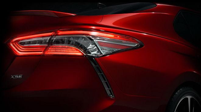 Toyota將在底特律車展帶來新Camry 尾燈看起來十分漂亮