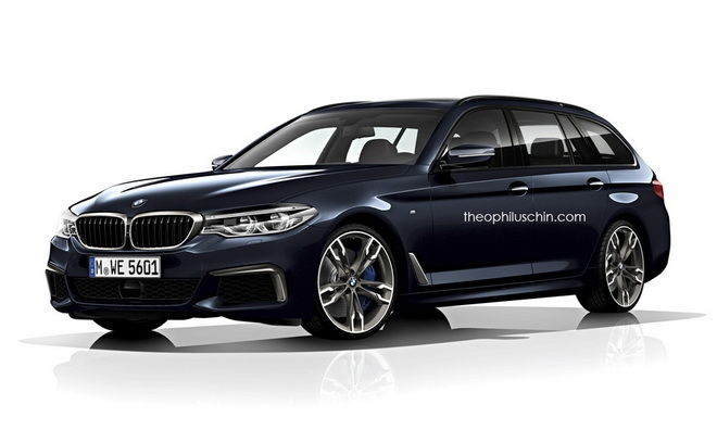 BMW全新G31 5-Series Touring可能在日內瓦車展登場