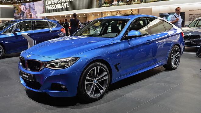 2016巴黎車展:小改款BMW 3-Series GT登場