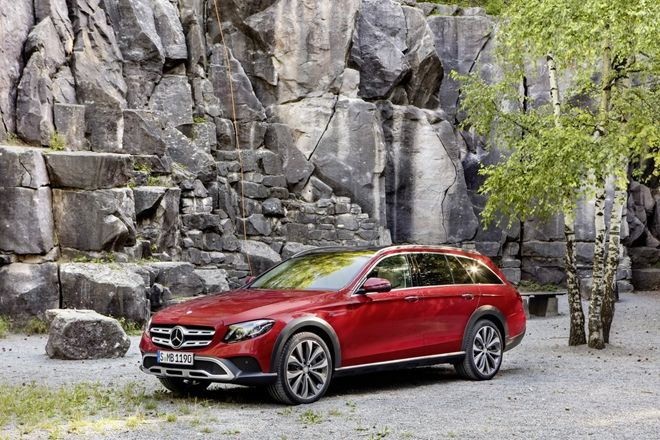 Mercedes-Benz E-Class All-Terrain出爐 實車巴黎車展見