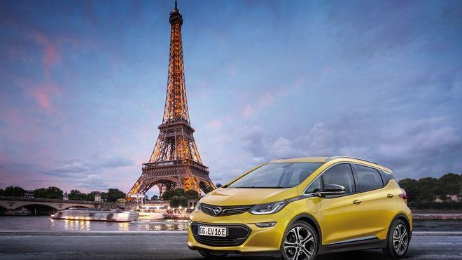 德美混血電動車 Opel Ampera-e將前往巴黎車展