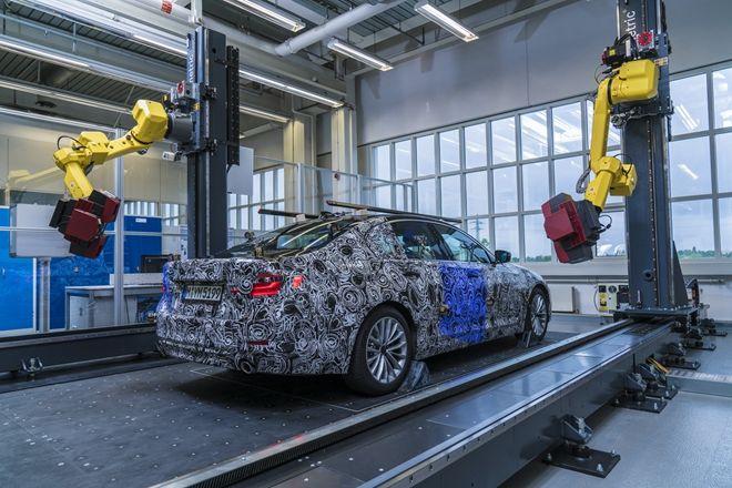 BMW原廠公布全新大改款「G30」5-Series生產基地偽裝照