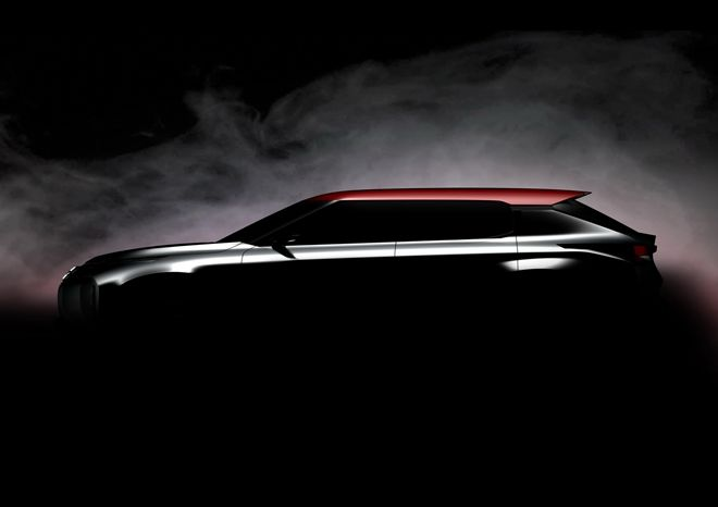 Outlander後繼車款 Mitsubishi Ground Tourer SUV Concept將在秋天巴黎現身