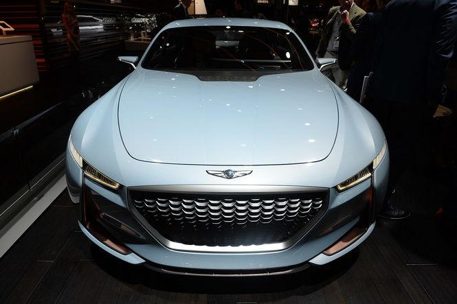 2016紐約車展:2016紐約車展:Genesis New York Concept