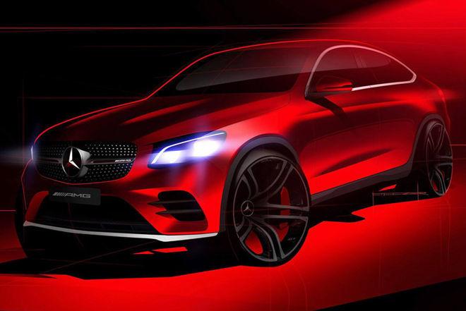 再次公開表示  Mercedes GLC Coupe確認將在紐約車展上亮相