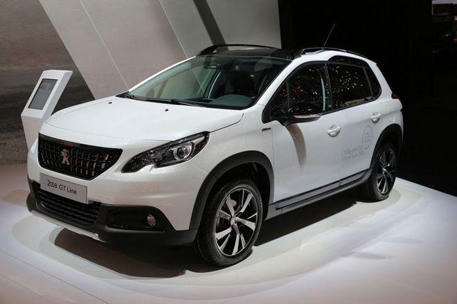 2016日內瓦車展:換臉後再出發,Peugeot 2008改款登場