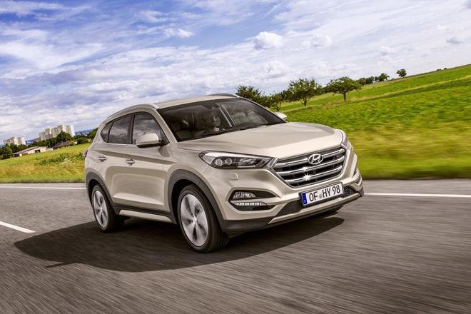 2016日內瓦車展:歐洲暢銷車款Hyundai Tucson將推出全新車型,搭載一具1.7升柴油引擎
