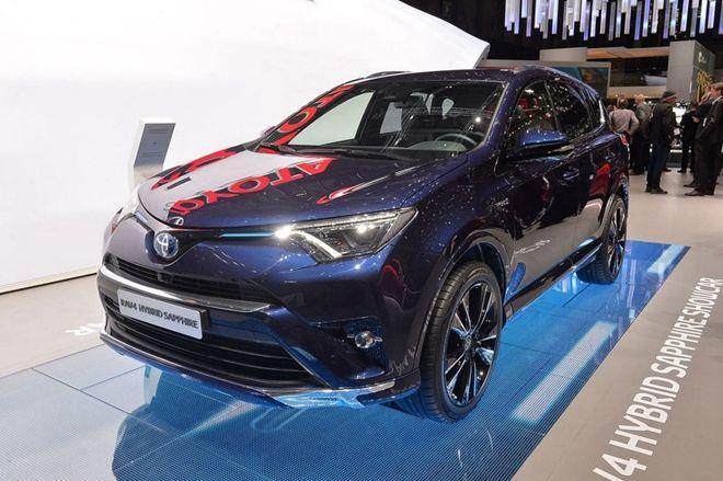 2016日內瓦車展:經濟且精緻,Toyota推出一款 RAV4 Sapphire Hybrid concept概念特仕車