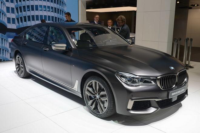 2016日內瓦車展:BMW M760Li xDrive頂級奢華旗艦
