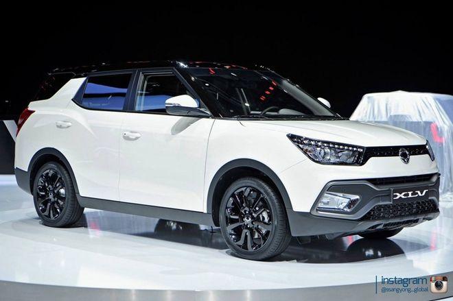 2016日內瓦車展:SsangYong推出更大又更實用的Tivoli XLV 版本